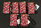 6 Disney Theme Parks Minnie Mouse Apple iPhone X XS XR 6 7 8 Wallet Cases (NEW)!