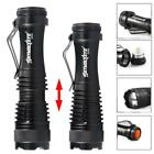 Zoomable  Q5 LED Torch 6000 LM 3 Modes 14500 AA Battery Flashlight Lamp BG