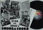 STAN BORESON & DOUG SETTERBERG Smorgasbord 1982 LP VG+ Seattle Swedish humor