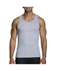 """Fruit of the Loom® BIG MEN'S 4/8 PACK BLACK/GRAY A-SHIRTS """" Cotton & Tagless """""""