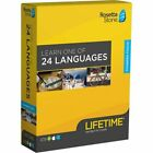 Rosetta Stone LIFETIME UNLIMITED complete course + Headset! Pick your language!