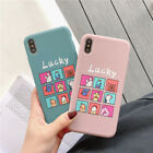 Phone Case Back Cover for Phone 6 6S 7 8 Plus Frosted Hard PC Protective Cases