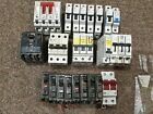 Job lot electrical MCB'S SQUARE D, WYLEX, contactors, 3 PHASE