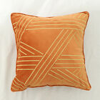 Bed Decor Square Throw Pillow Case Cushion Covers 18x18 inch for Sofas Bed