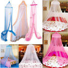 Round Dome Baby Infant Mosquito Net Toddler Bed Crib Canopy Netting White Babe image