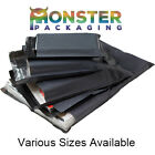 10x14 Grey Mailing Bags Postal Postage Post Mail Strong Poly Self Seal 55mu