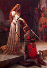 The Accolade by Edmund Leighton fine art on canvass