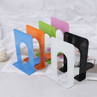 Colourful Heavy Duty Metal Bookends Book Ends Office Stationery PLV