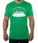 Snowman Family with custom name-Family Reunion Men's T-shirts