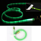 LED Light-up Data USB Charger Power Charge Cable For iPhone X 8 7 6 5S 5