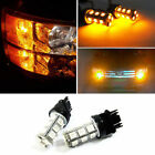 Fit For Ram 1500 2500 3500 2PC Front Turn Signal Light 3157 Amber LED Bulb