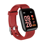 Waterproof Sport Smart Watch Blood Pressure Heart Rate Monitor for IOS/ Android