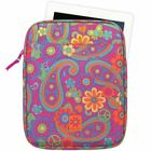 Molly 'n Me Tablet Case Choose: Paisley Flower or Candy Shine Pattern