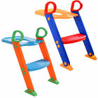 Training Stool Kids Trainer Seat Chair Toilet Potty Toddler With Ladder Step Up image