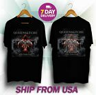 HOT RARE Queensryche-Tour-Dates-2019 T-shirt Black Size S TO 5XL image