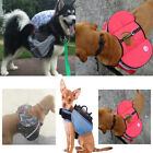 Pet Carrying Bag Self Harness Dog Outdoor Self Backpack Package Traction Rope