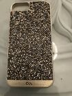 Brilliance I Phone 6 Case- Genuine Crystal and Lesther