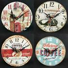 Creative Retro DIY Wall Clock Frameless Analog Clock Home Office Decor s2zl