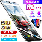 "Practical X23 6.3"" Android 9.1 6G+128GB Face Dual SIM Mobile Phone Smartphone II"