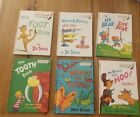 """Dr Suess """"Bright And Early Books For Beginning Beginners"""" 6 Book Lot"""