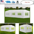 Party Tent Marquee Gazebo Pavilion Canopy Wedding White Show Sunshade Waterproof