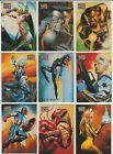 1996 Marvel Masterpieces Base Singles Choose cards X-Men Spider-Man Avengers  image