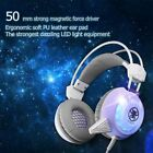 Gaming Headset Surround 3D LED Headphones Earmuffs for PS4 PC Mac Laptop NEW