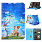 For Amazon Kindle Fire HD 8 2018 HD 10 Paperwhite Flip Smart Leather Case Cover