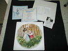 1981 Be My Friend, Mary Victors, Wedgewood, Collector Plate, NOB, COA