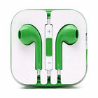 Apple iPhone 6/7/8/X Style Colour Earbuds Earphone Headphones In Ear 3.5mm Case