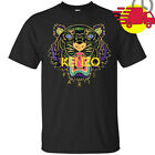 1Kenzo Logo T-Shirt Men Black Cotton Full Size S-3XL image