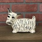 Ceramic Scottie Dog Coin Bank