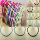 Fashion Womens Elegant Many Color Pearl Necklace Temperament Clavicle Chain New