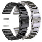 18 19 20 21 22 23 24 25mm Stainless Steel Watch Band Strap For Eco-Drive Watch image