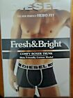 DIESEL FRESH & BRIGHT BOXER TRUNK Underwear S M L XL 2XL BLACK BLUE GREEN