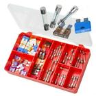 Automotive Glass Tube & Maxi Plug-In Blade Fuses TORRES Assortment Kit #AAK28