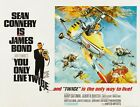 "You Only Live Twice (1967) Movie Silk Fabric Poster 12""x16"" 24""x32"" $11.34 CAD on eBay"