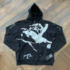 Rare Vintage Dissizit Mens 'Hot Pocket' Hoodie Black 2008 Authentic New Was $75
