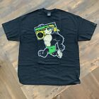 Rare Vintage Mens Chunk and Ape 'Thrilla' T-Shirt Black 2008 Authentic - Was $45 image