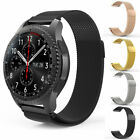 For Samsung Gear S3 Frontier Classic Milanese Stainless Steel Watch Loop Band US image