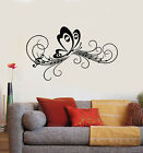 Vinyl Wall Decal Butterfly Nature Wings Summer Music Melody Stickers (g848)