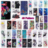 For Samsung Galaxy S10 S9 Plus Note9 Magnetic Flip Card Wallet Leather Case Cove