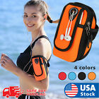 6Inch Outddor Waterproof Sports Running Mobile Phone Arm Bag Case Holder 18x11cm