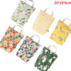 Multifunctional Baby Diaper Organizer Reusable Waterproof Bag Travel Nappy B TE