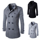 Winter Men's Warm Double Breasted Overcoat Trench Coat Caban Jacket Peacoat for sale  China