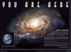 Official You Are Here Space  Maxi Poster 91.5 x 61cm Universe Solar System Schoo