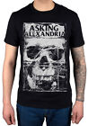 Official Asking Alexandria Facial T-Shirt Unisex World Music Tour Reckless And R