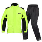 Raincoat Rain Pants Motorcycle Riding Waterproof Slim Men Outdoor Hiking Jackets $52.76 USD on eBay
