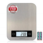 MERFULL Digital Kitchen Scale,Tare Function and Larger Platform for Baking,11lb