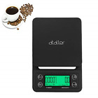 Ataller Digital Coffee Scale with Timer and Tare Function 1g, Multifunctional
